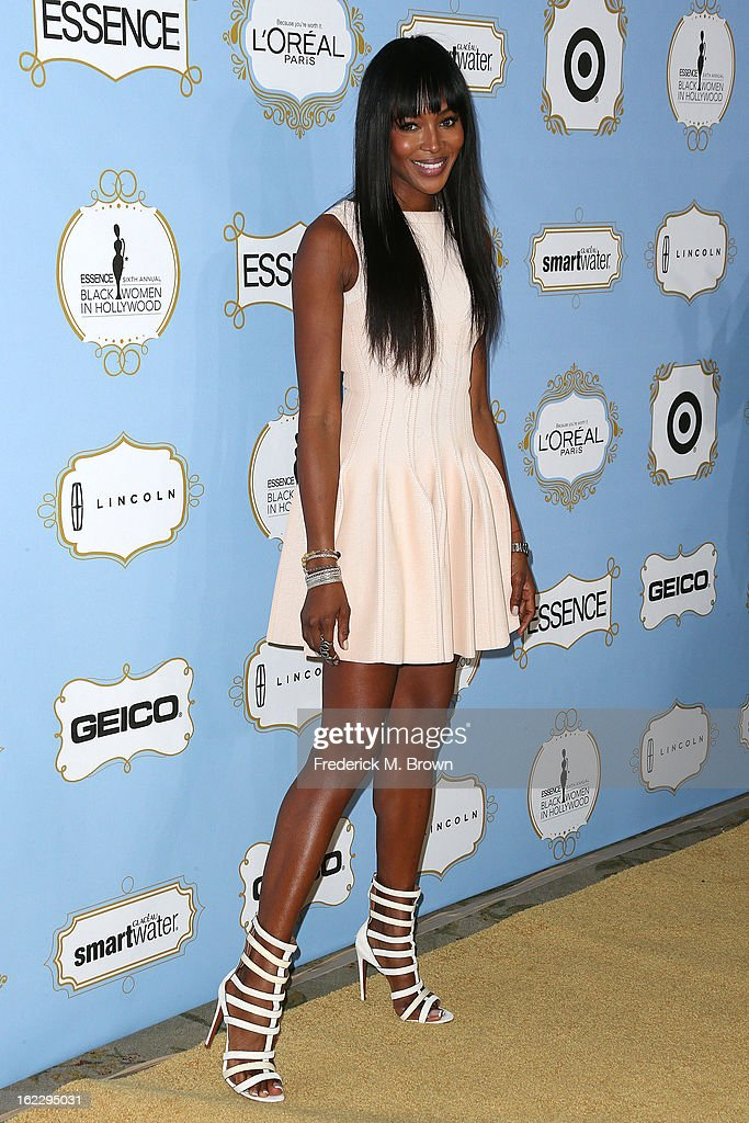 Model <a gi-track='captionPersonalityLinkClicked' href=/galleries/search?phrase=Naomi+Campbell&family=editorial&specificpeople=171722 ng-click='$event.stopPropagation()'>Naomi Campbell</a> attends the Sixth Annual ESSENCE Black Women In Hollywood Awards Luncheon at the Beverly Hills Hotel on February 21, 2013 in Beverly Hills, California.