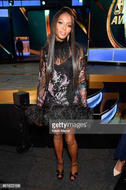 Model Naomi Campbell during the 2017 NBA Awards Live on TNT on June 26 2017 in New York New York 27111_002