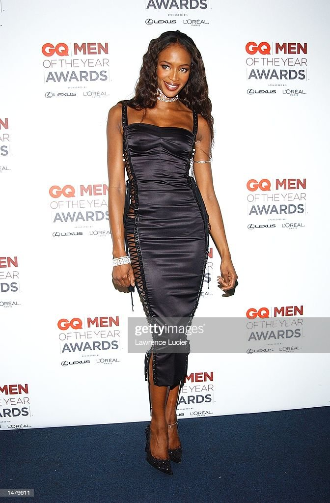 Model <a gi-track='captionPersonalityLinkClicked' href=/galleries/search?phrase=Naomi+Campbell&family=editorial&specificpeople=171722 ng-click='$event.stopPropagation()'>Naomi Campbell</a> poses backstage at the 2002 GQ Men of the Year Awards October 16, 2002 at the Manhattan Center in New York City, New York.