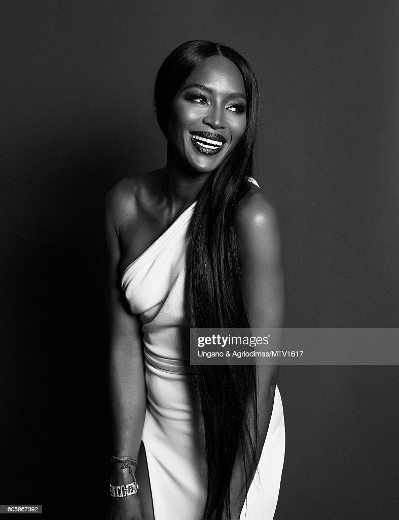 Model Naomi Campbell poses for a portrait at the 2016 MTV Video Music Awards at Madison Square Garden on August 28, 2016 in New York City.