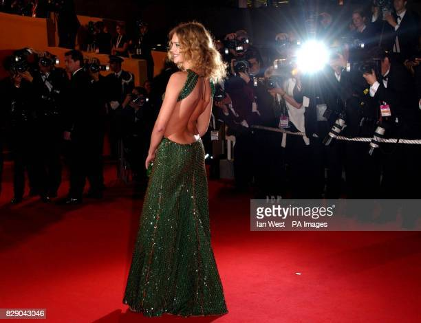 Model Natalia Vodianova arrives for the Kill Bill 2 aftershow party at the Baoli Club in Port Pierre Canto as part of the 57th Cannes Film Festival...