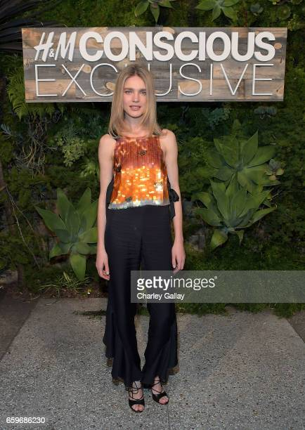 Model Natalia Vodianova hosts the HM Conscious Exclusive Dinner at Smogshoppe on March 28 2017 in Los Angeles California