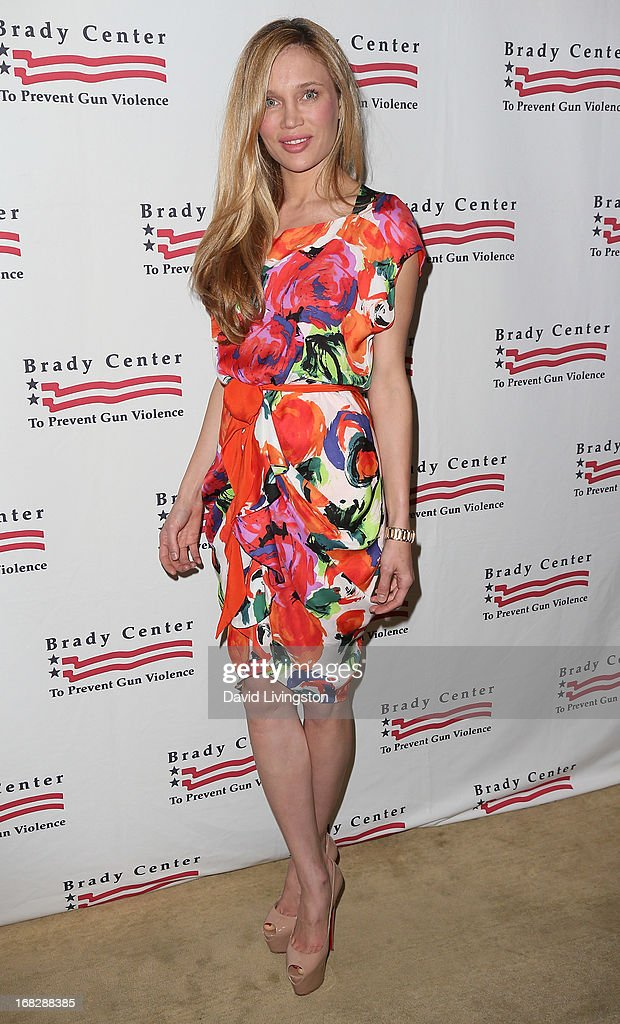 Model Natalie Gal attends the Brady Campaign To Prevent Gun Violence 2013 Los Angeles Benefit Event at the Beverly Hills Hotel on May 7, 2013 in Beverly Hills, California.