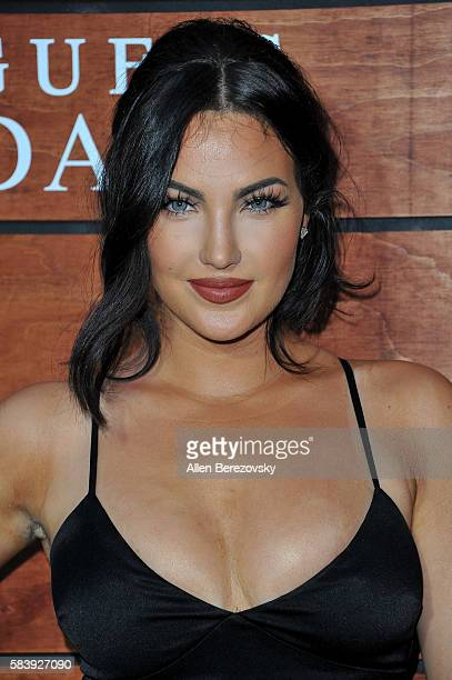 Model Natalie Halcro attends GUESS Celebration Launch of Dare Double Dare Fragrance at Ysabel on July 27 2016 in West Hollywood California