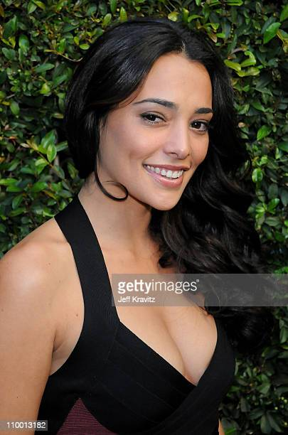 Model Natalie Martinez arrives to Spike TV's 2nd Annual Guys Choice Awards at Sony Studios on May 30 2008 in Culver City California