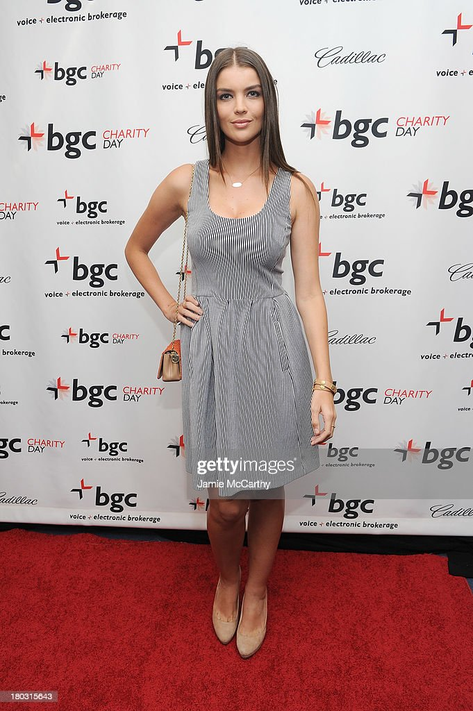 Model Natasha Barnard attends the annual charity day hosted by Cantor Fitzgerald and BGC at the BGC office on September 11, 2013 in New York City.