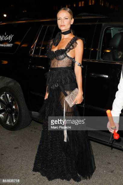 Model Natasha Poly is seen on September 8 2017 in New York City