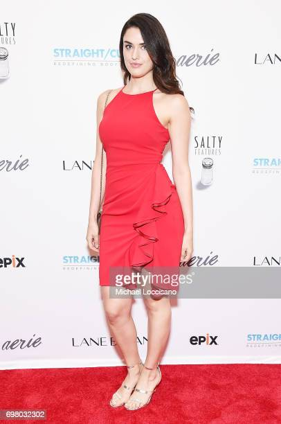 Model Nathalia Novaes attends the 'Straight/Curve' New York premiere at the Whitby Hotel on June 19 2017 in New York City