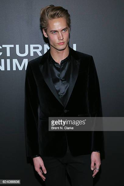Model Neels Visser attends the 'Nocturnal Animals' New York premiere held at The Paris Theatre on November 17 2016 in New York City