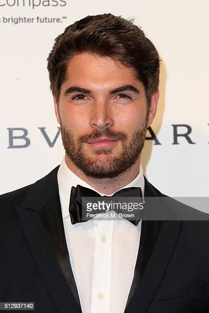 Model Nick Bateman attends the 24th Annual Elton John AIDS Foundation's Oscar Viewing Party on February 28 2016 in West Hollywood California