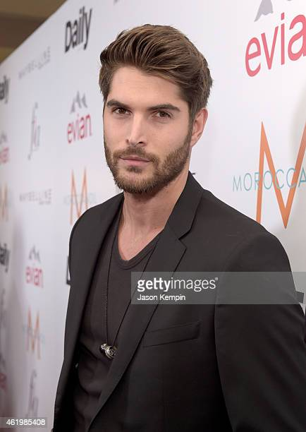 Model Nick Bateman attends The DAILY FRONT ROW 'Fashion Los Angeles Awards' Show at Sunset Tower on January 22 2015 in West Hollywood California