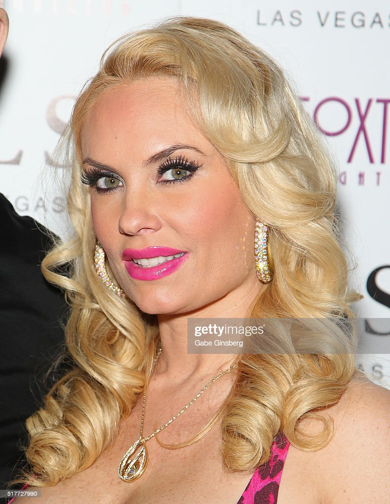 Model Nicole 'Coco' Austin attends her birthday party at Foxtail Nightclub at SLS Las Vegas on March 27, 2016 in Las Vegas, Nevada.