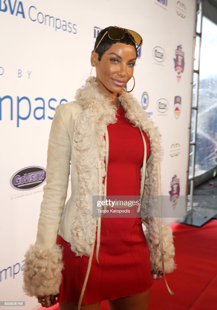 Model Nicole Mitchell Murphy attends the 30th Annual Leigh Steinberg Super Bowl Party on February 4, 2017 in Houston, Texas.
