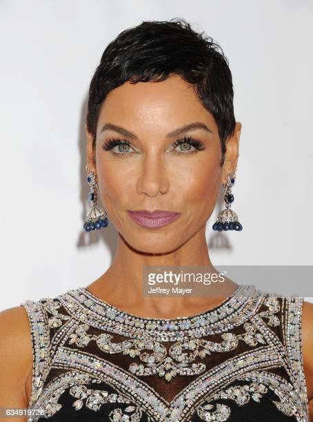 Model Nicole Murphy arrives at the 48th NAACP Image Awards at Pasadena Civic Auditorium on February 11 2017 in Pasadena California