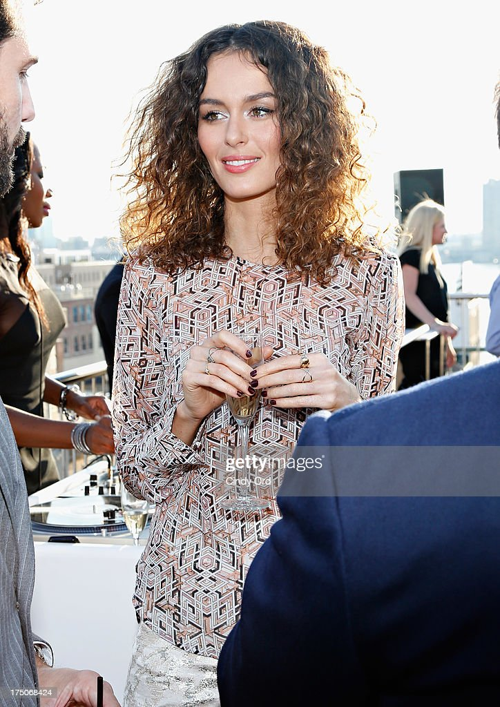 Model <a gi-track='captionPersonalityLinkClicked' href=/galleries/search?phrase=Nicole+Trunfio&family=editorial&specificpeople=3006654 ng-click='$event.stopPropagation()'>Nicole Trunfio</a> attends the David Yurman Annual Rooftop Soiree at David Yurman Rooftop on July 30, 2013 in New York City.