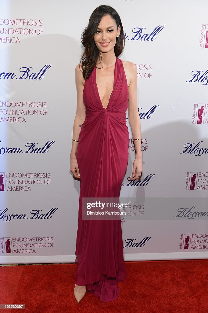 Model Nicole Trunfio attends The Endometriosis Foundation of America's Celebration of The 5th Annual Blossom Ball at Capitale on March 11, 2013 in New York City.