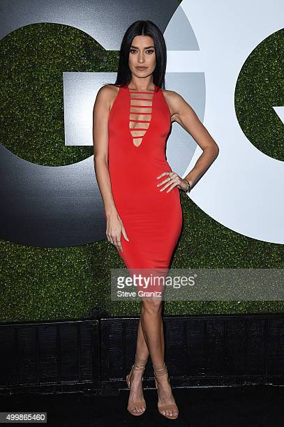 Model Nicole Williams attends the GQ 20th Anniversary Men Of The Year Party at Chateau Marmont on December 3 2015 in Los Angeles California