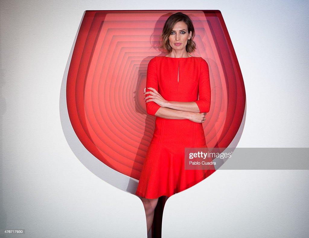 Nieves Alvarez Presents Campari Red Suite at Hesperia Marid