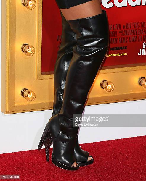 Model Nikki Leigh attends the premiere of Screen Gems' 'The Wedding Ringer' at the TCL Chinese Theatre on January 6 2015 in Hollywood California