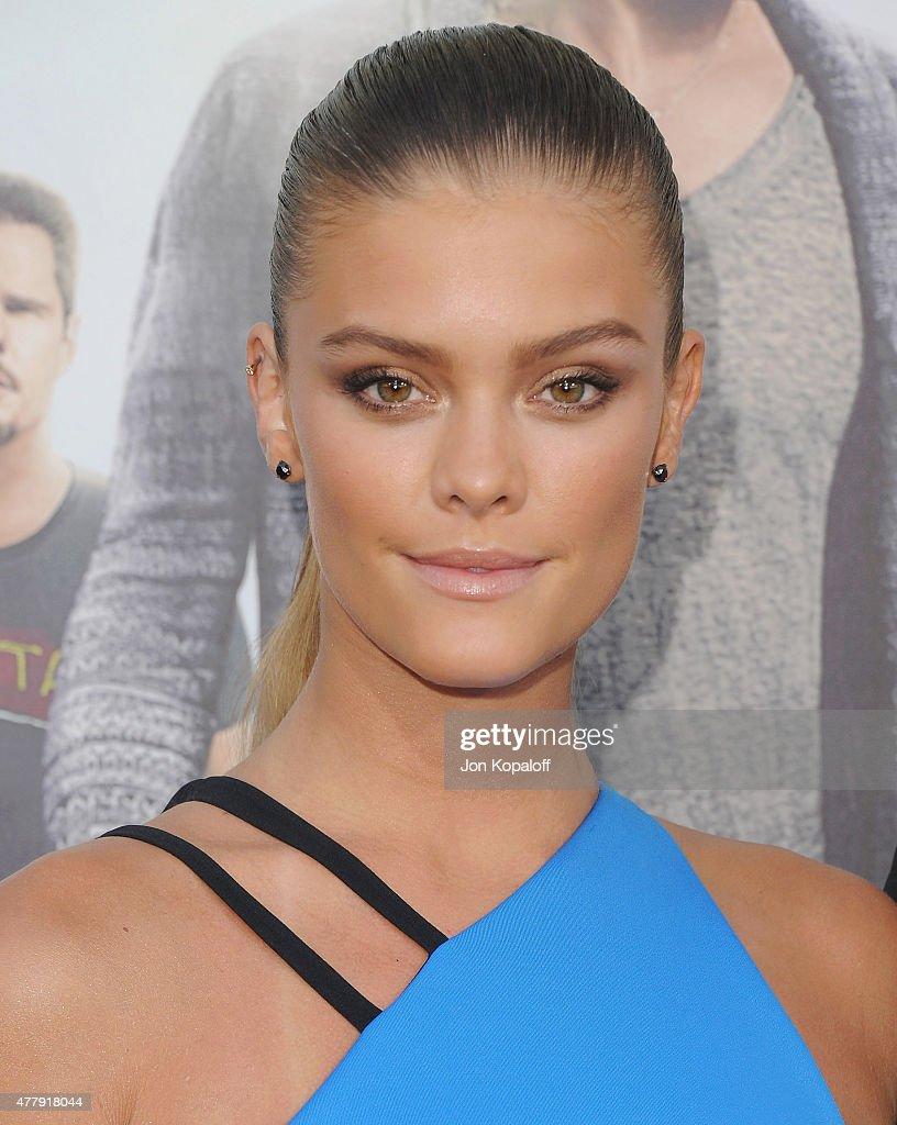 Model Nina Agdal arrives at the Los Angeles Premiere 'Entourage' at Regency Village Theatre on June 1, 2015 in Westwood, California.