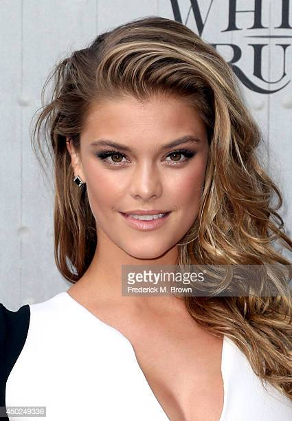 Model Nina Agdal attends Spike TV's 'Guys Choice 2014' at Sony Pictures Studios on June 7 2014 in Culver City California