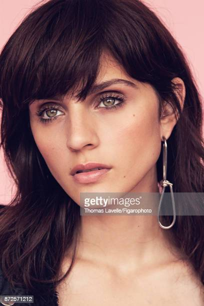 Model poses at a fashion shoot for Madame Figaro on July 17 2017 in Paris France Earring PUBLISHED IMAGE CREDIT MUST READ Thomas...