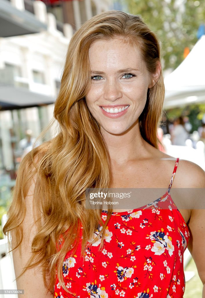 Model Nina Smidt attends at the 'Wee Rock!' concert and benefit for the Children's Hospital of Los Angelesat at The Americana at Brand on July 20, 2013 in Glendale, California.