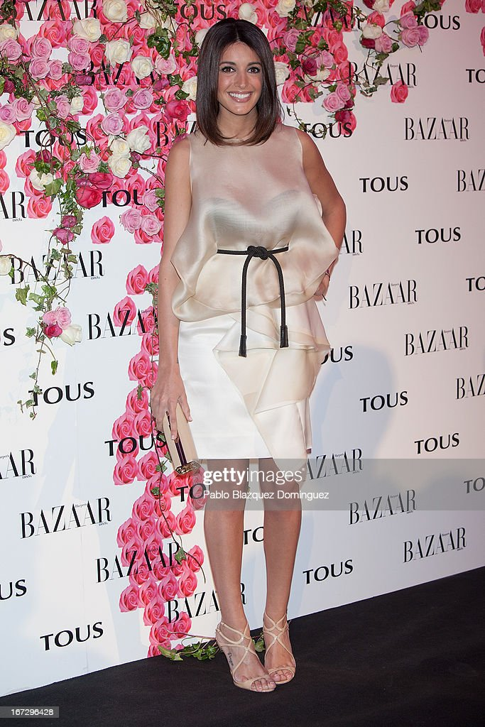 Model Noelia Lopez attends the presentation of the new fragrance 'Rosa' at Ritz Hotel on April 23, 2013 in Madrid, Spain.