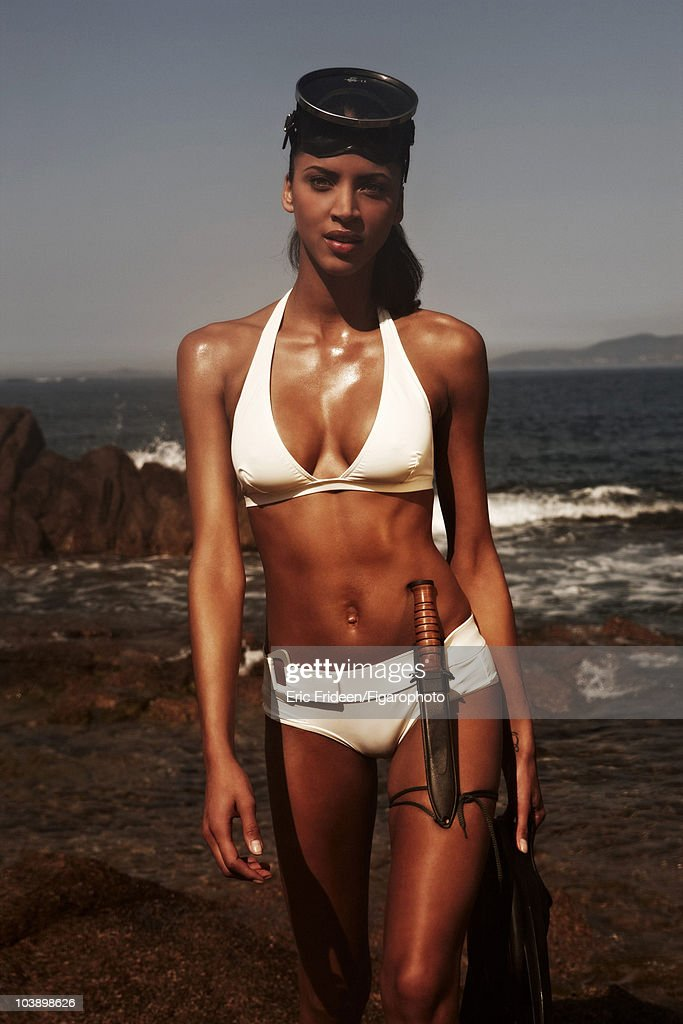 Noemie Lenoir, Madame Figaro, April 14, 2009