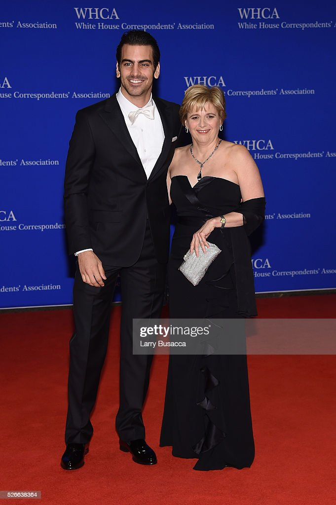 Model Nyle DiMarco (L) and Donna DiMarco attend the 102nd White House Correspondents' Association Dinner on April 30, 2016 in Washington, DC.
