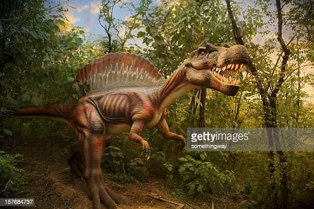モデルの恐竜公園