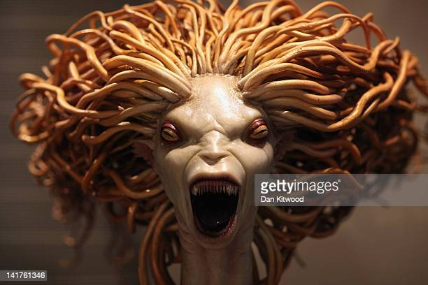 A model of a mermaid used in Harry Potter and the Goblet of Fire is displayed at the new Harry Potter Studio Tour at Warner Brothers Leavesden...