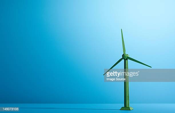 Model of a wind turbine