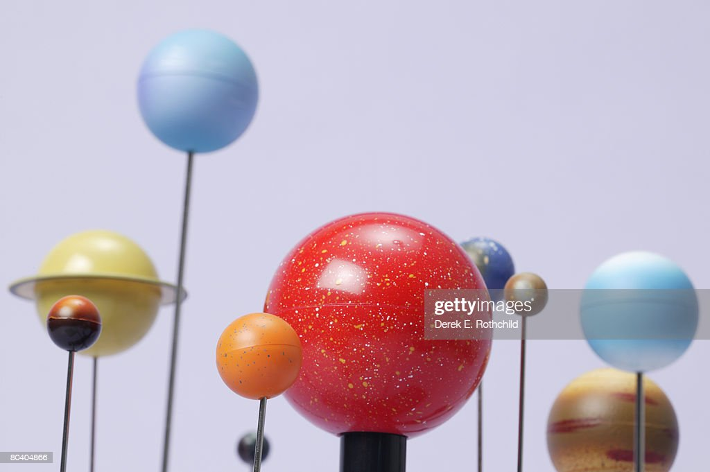 Model of planets : Foto stock