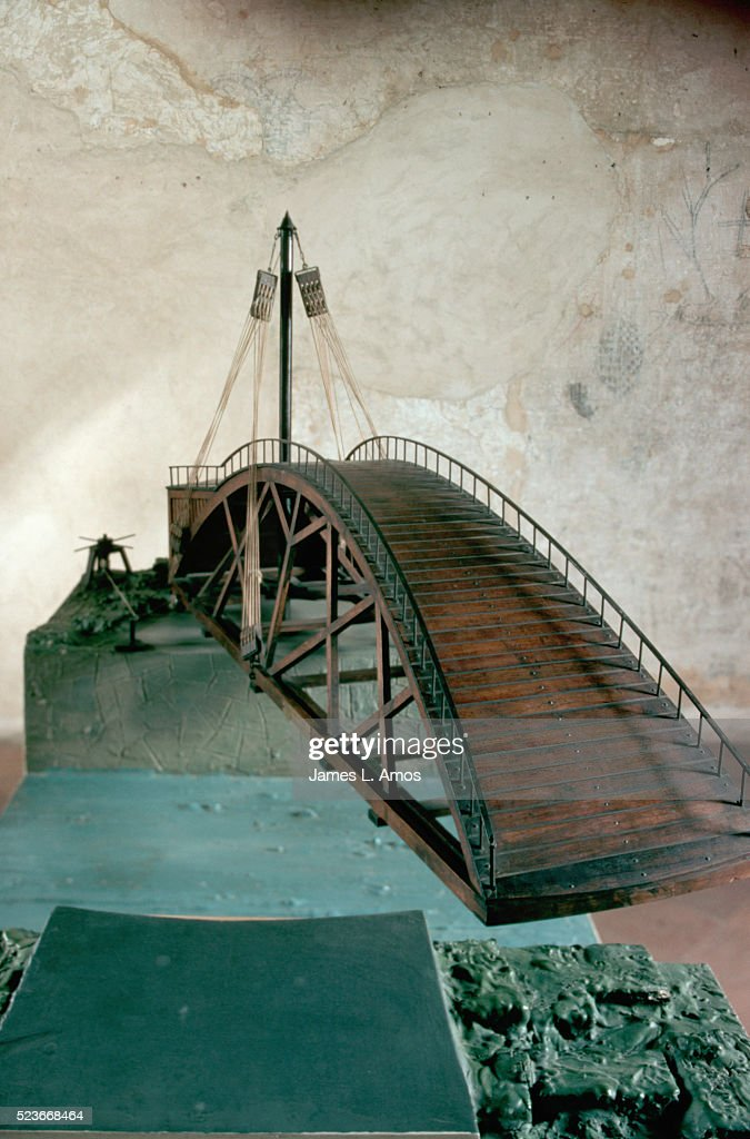 Model of Swing Bridge