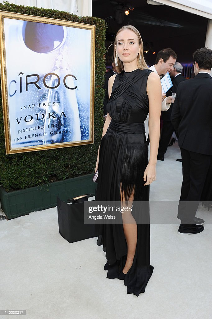 Model <a gi-track='captionPersonalityLinkClicked' href=/galleries/search?phrase=Olga+Sorokina&family=editorial&specificpeople=8201470 ng-click='$event.stopPropagation()'>Olga Sorokina</a> attends CIROC Vodka at 20th Annual Elton John AIDS Foundation Academy Awards Viewing Party at The City of West Hollywood Park on February 26, 2012 in Beverly Hills, California.
