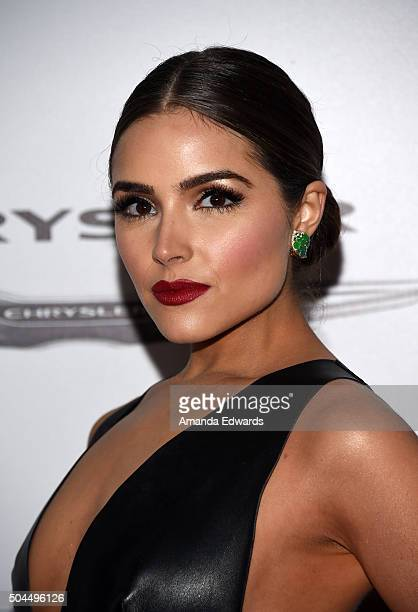 Model Olivia Culpo arrives at NBCUniversal's 73rd Annual Golden Globes After Party at The Beverly Hilton Hotel on January 10 2016 in Beverly Hills...