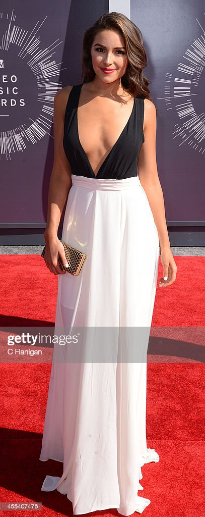 Model <a gi-track='captionPersonalityLinkClicked' href=/galleries/search?phrase=Olivia+Culpo&family=editorial&specificpeople=9194131 ng-click='$event.stopPropagation()'>Olivia Culpo</a> arrives at the 2014 MTV Video Music Awards at The Forum on August 24, 2014 in Inglewood, California.