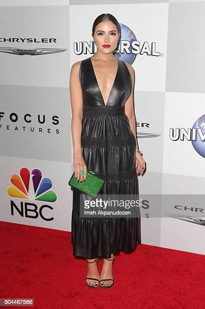 Model Olivia Culpo attends Universal NBC Focus Features and E Entertainment Golden Globe Awards After Party sponsored by Chrysler at The Beverly...