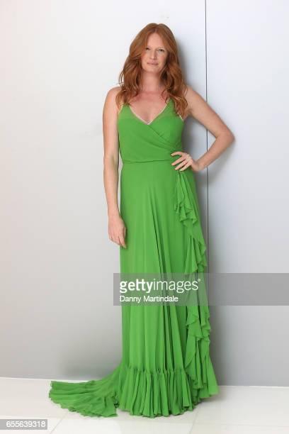 Model Olivia Inge attends Debenhams Summer 17 Salon Show with global supermodel Helena Christensen alongside selection of Designers at Debenhams on...