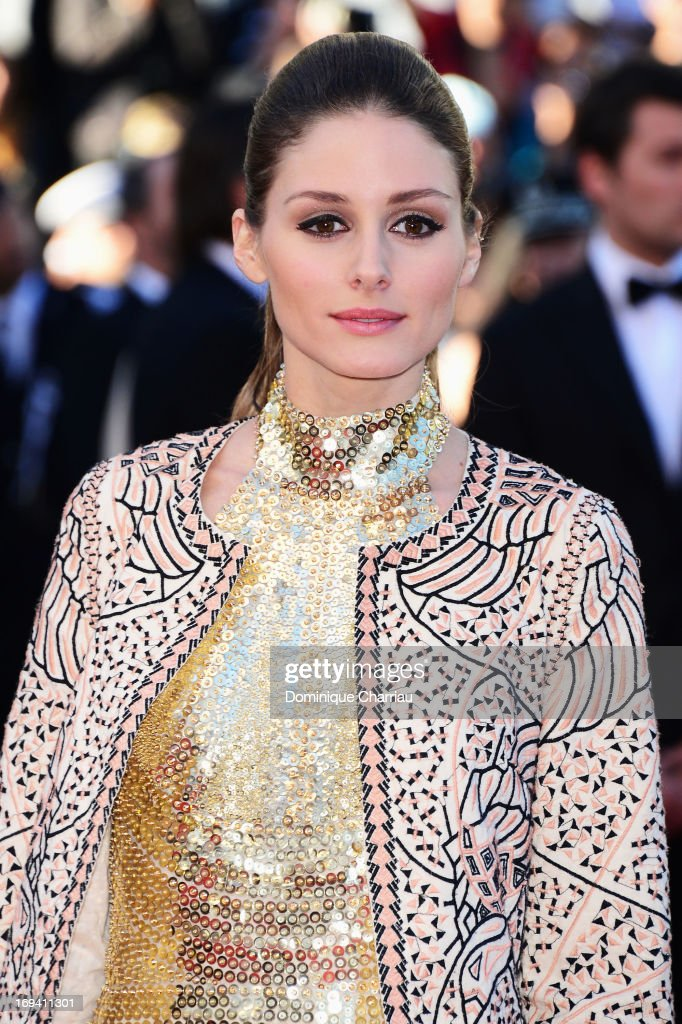 Model Olivia Palermo attends the Premiere of 'The Immigrant' at The 66th Annual Cannes Film Festival at Palais des Festivals on May 24, 2013 in Cannes, France.