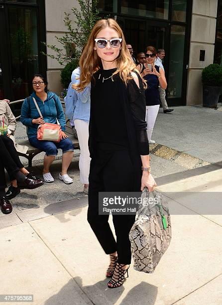 Model Olivia Palermo is seen walking in Soho on June 3 2015 in New York City