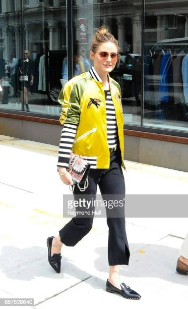 Model Olivia Palermo seen on the streets of Manhattan on May 23 2017 in New York City
