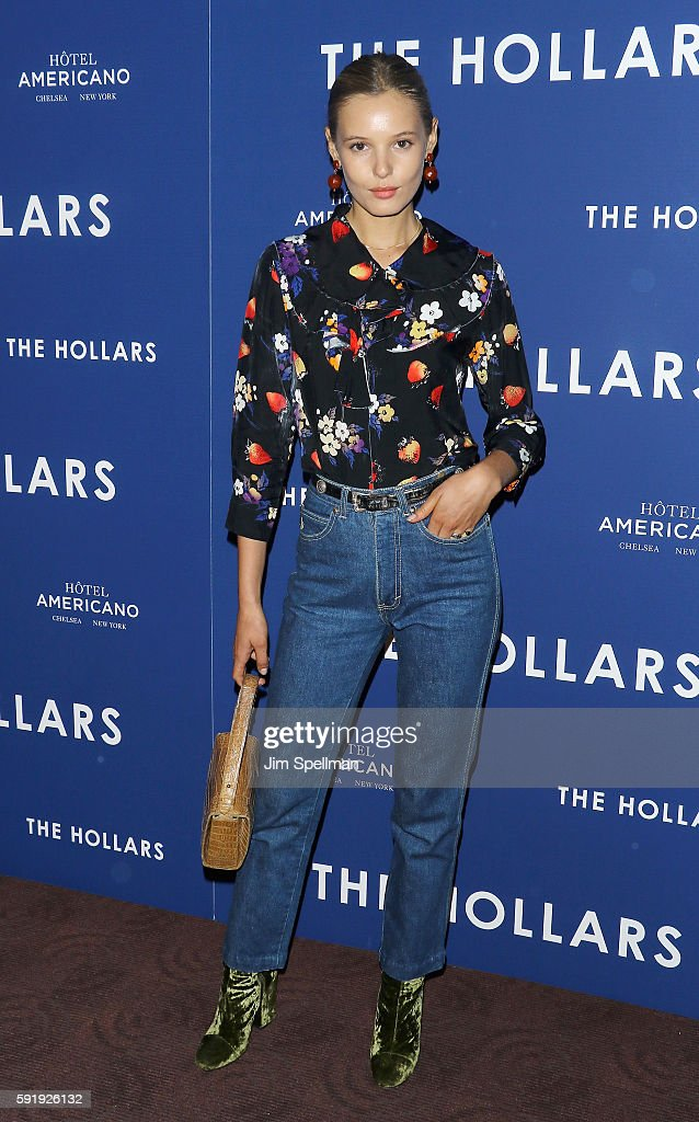 Model Paige Reifler attends the 'The Hollars' New York screening at Cinepolis Chelsea on August 18 2016 in New York City