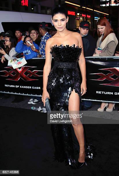 Model Paloma Jimenez attends the premiere of Paramount Pictures' 'xXx Return of Xander Cage' at TCL Chinese Theatre IMAX on January 19 2017 in...