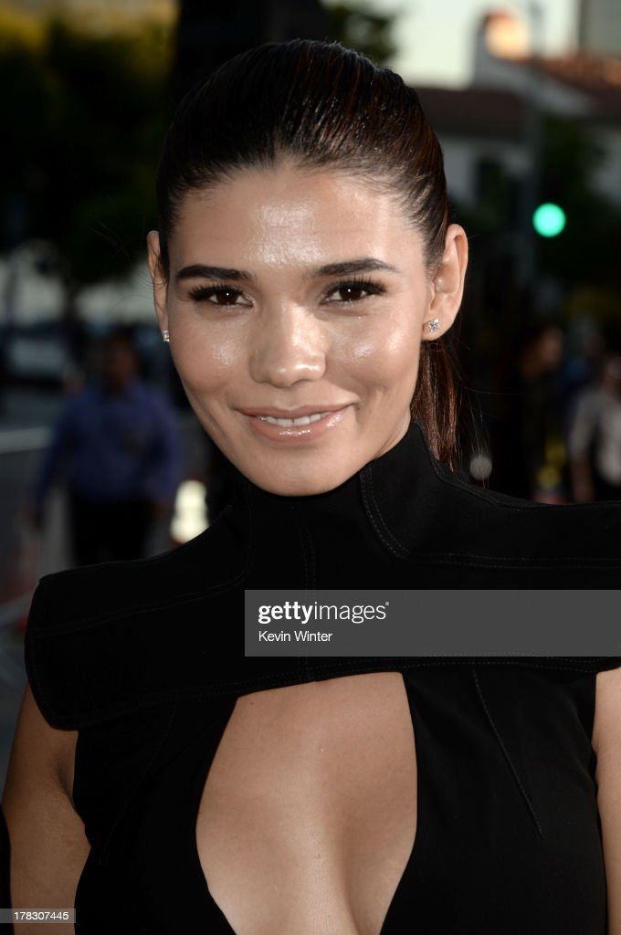 Model Paloma Jimenez attends the premiere of Universal Pictures' 'Riddick' at Mann Village Theatre on August 28, 2013 in Westwood, California.