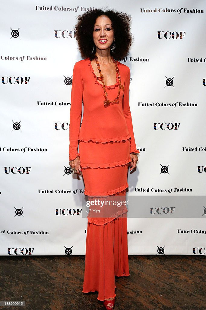 Model <a gi-track='captionPersonalityLinkClicked' href=/galleries/search?phrase=Pat+Cleveland+-+Model&family=editorial&specificpeople=592076 ng-click='$event.stopPropagation()'>Pat Cleveland</a> attends the 3rd Annual United Colors Of Fashion Gala at Lexington Avenue Armory on October 9, 2013 in New York City.