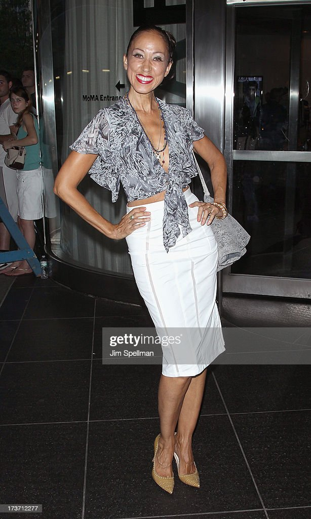 Model Pat Cleveland attends The Cinema Society & Bally screening of Summit Entertainment's 'Red 2' at the Museum of Modern Art on July 16, 2013 in New York City.