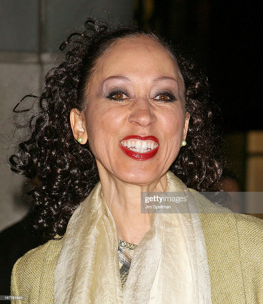 Model Pat Cleveland attends the Cinema Society with Swarovski & Grey Goose premiere of eOne Entertainment's 'Scatter My Ashes At Bergdorf's' at Florence Gould Hall on April 29, 2013 in New York City.