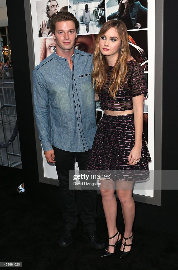 Model <a gi-track='captionPersonalityLinkClicked' href=/galleries/search?phrase=Patrick+Schwarzenegger&family=editorial&specificpeople=540253 ng-click='$event.stopPropagation()'>Patrick Schwarzenegger</a> (L) and actress <a gi-track='captionPersonalityLinkClicked' href=/galleries/search?phrase=Liana+Liberato&family=editorial&specificpeople=3997387 ng-click='$event.stopPropagation()'>Liana Liberato</a> attend the premiere of New Line Cinema's and Metro-Goldwyn-Mayer Pictures' 'If I Stay' at the TCL Chinese Theatre on August 20, 2014 in Hollywood, California.